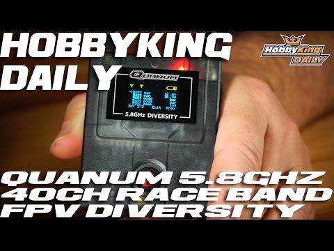 Quanum 2.4 5.8GHz Raceband Diversity Scanner AUDIO FIXED - HobbyKing Daily - UCkNMDHVq-_6aJEh2uRBbRmw