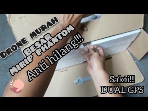 Drone Sjrc s70w!!! Keren!!!, Mirip Dji Phantom Dan Mudah Di Kendalikan!!! | Unboxing | Review