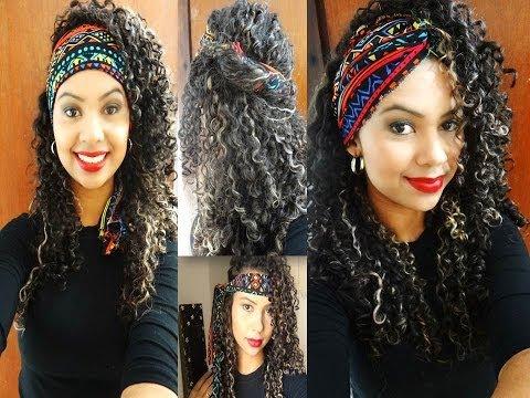 8 Penteados fáceis para cabelos cacheados - Por Suzane Camila