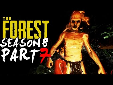 The Forest Alpha 0.08 Season 8 Episode 7 - THREE MASSIVE FIGHTS!