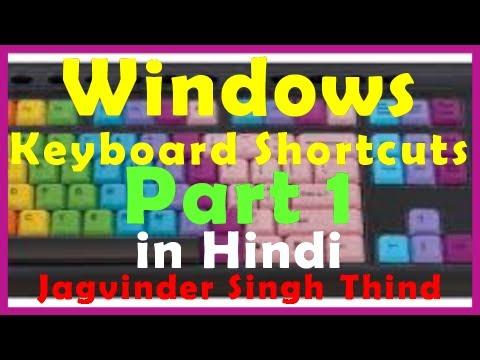Windows Shortcuts Part 1