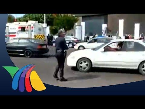 Policía de Tijuana dirige el transito de forma peculiar | Noticias de Baja California