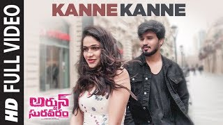 Kanne Kanne Full Video Song  Arjun Suravaram  Nikhil Siddhartha, Lavanya Tripati  Sam C S