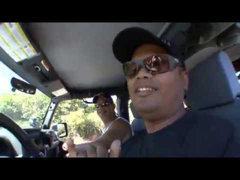 Jeep Rubicon and Toyota FJ Cruiser Off-Road in Hawaii
