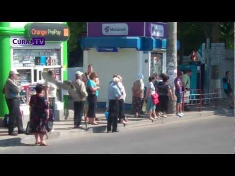 Protestul șoferilor de microbuze a înfuriat pasagerii