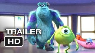Monsters, Inc. 3D Official Trailer (2012) Pixar Animated Movie HD