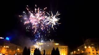 Салют на день рождения города Житомира 2013