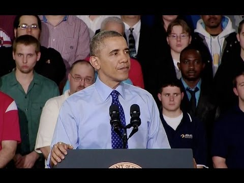 The President and Vice President Speak on Skills Training for Workers (White House)  4/17/14