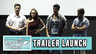One Way Ticket | Trailer Launch | New Marathi Movie | Sachit Patil, Shashank Ketkar