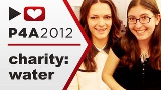 Interview with charity: water's graphic designer - Project for Awesome 2012