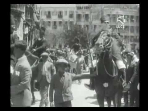 Processione di Sant'Efisio a Cagliari / 1 Maggio 1929 [ Istituto LUCE ]