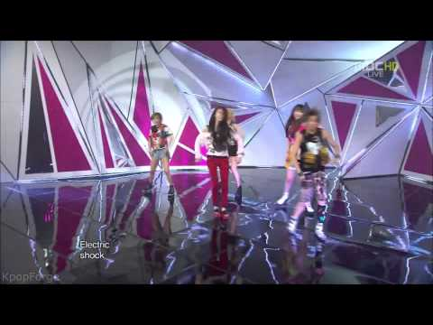 f(x) - Electric Shock LIVE mix in 1080p