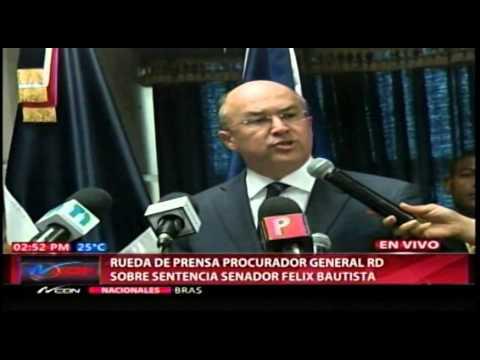 Domínguez Brito: el sistema de justicia le ha…
