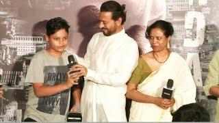 Irrfan Khan INTRODUCES His Son Babil Khan @ Madaari Trailer Launch