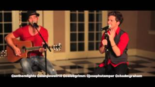 "Taylor Swift Mash-Up - ""Love Story"" ""You Belong With Me"" ""Red"" (acoustic cover by Anthem Lights"