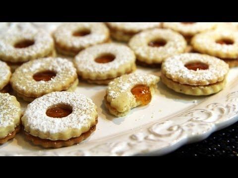 Cookies with Apricot Jam (Sablés à la Confiture) Recipe - CookingWithAlia - Episode 194