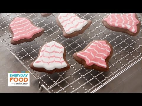 Christmas Gingerbread Bells   Holiday Recipes   Everyday Food with Sarah Carey