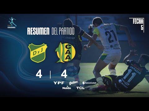 Defensa y Justicia 4-4 Aldosivi - Fecha 5 - Zona A Complementación - Copa Diego Maradona