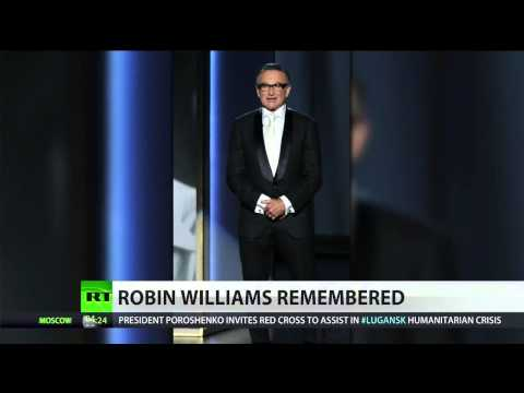 Actor Robin Williams found dead, suicide suspected cause  8/12/14  (Celebrity)