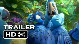 Rio 2 Official Trailer - Migration Vacation (2014) - Anne Hathaway, Jesse Eisenberg Movie HD