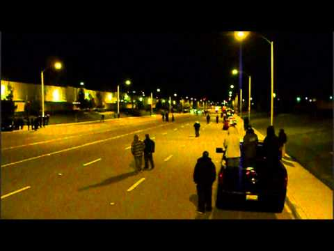 DFR'S Turbo Civic VS Breezy's Turbo Integra street racing