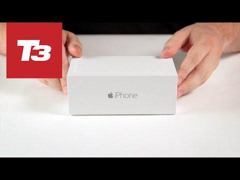 Video đập hộp iPhone 6 đầu tiên