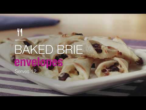 Making Mayo's Recipes: Baked Brie Envelopes