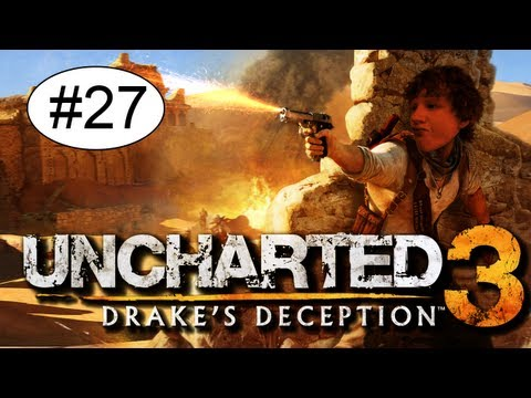 Uncharted 3 Drake's Deception Playthrough Deel 27 - Krijg Nou Tieten