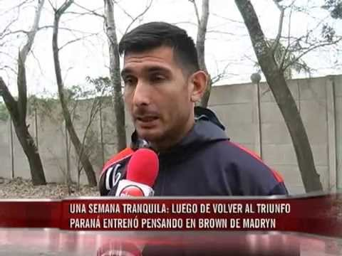 Atlético Paraná entreno pensando en su próximo partido