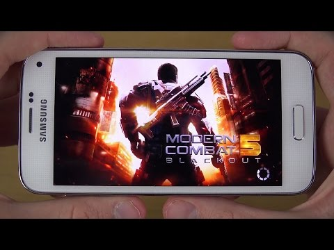 Modern Combat 5 Samsung Galaxy S5 Mini 4K Gaming