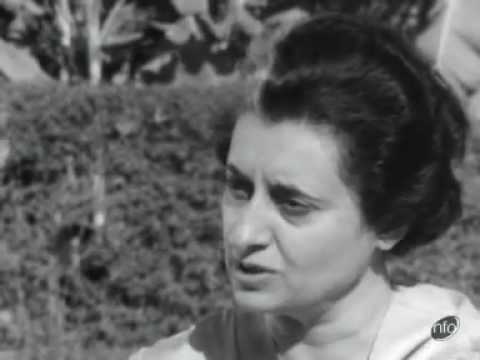 Interview with Mrs. Gandhi on food shortage problem (1)