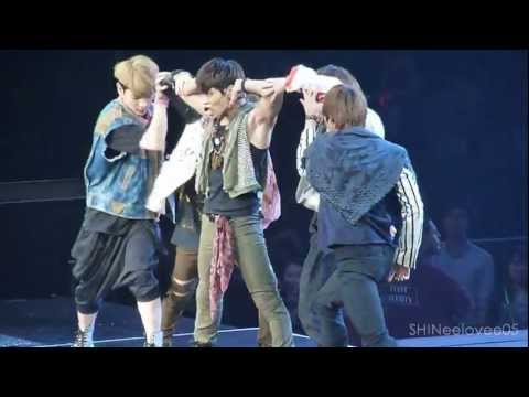 [CLOSEUP/FANCAM] 120520 SHINee Sherlock @ SMTOWN LA, Honda Center