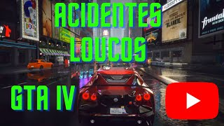 Grand theft auto 4 acidentes de carro