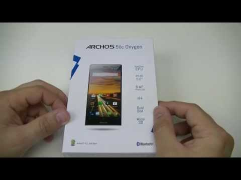 Archos 50c Oxygen - déballage | par Top-For-Phone.fr