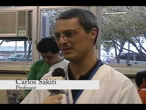 Olimpíada do Conhecimento do SENAI 2009 - Entrevista com Bruno Scheremeta