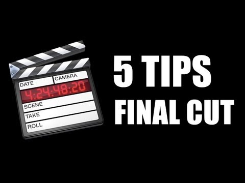 5 Tips para Final Cut Pro