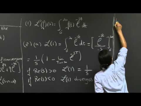 Laplace Transform: Basics | MIT 18.03SC Differential Equations, Fall 2011