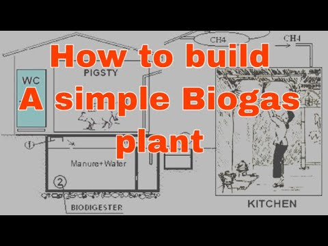CCRD - Build a simple biogas plant (VACVINA model)