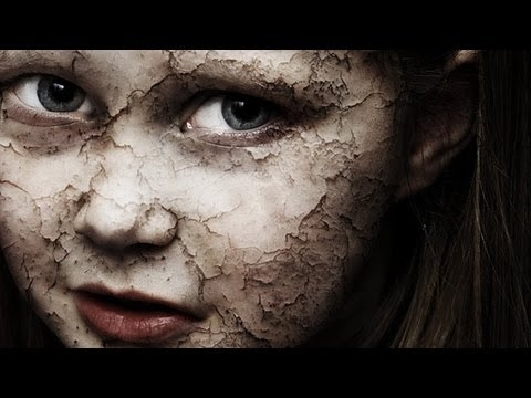 Photoshop Tutorial - Crack and Peel Face