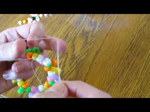 Easy instructions to make kandi cuffs