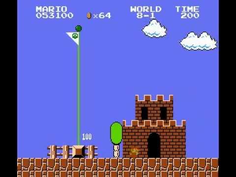 Super Mario Bros (NES) Speed Run World Record 4:57