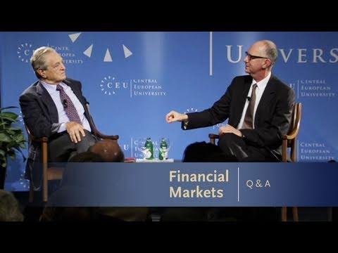 George Soros Lecture Series: Financial Markets Q&A