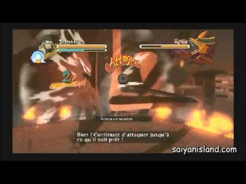 Naruto Shippuden: Ultimate Ninja Storm 3 Gameplay Video -- 3rd Hokage vs Kyuubi Boss Battle