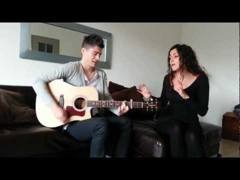 Arnaud Lilian, vidéo duo, En Nuances de Gris, en duo acoustique avec Gaëlle