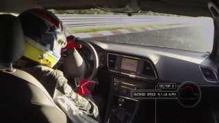 SEAT Leon Cupra установил рекорд на Нюрбургринге