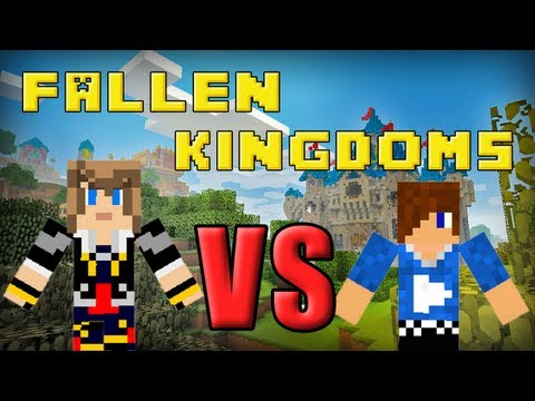 Fallen Kingdoms : Frigiel vs Siphano | Minecraft