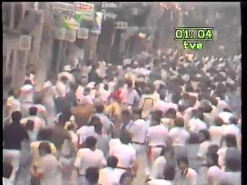 Encierro de San Fermín   12 de julio de 1983 480p