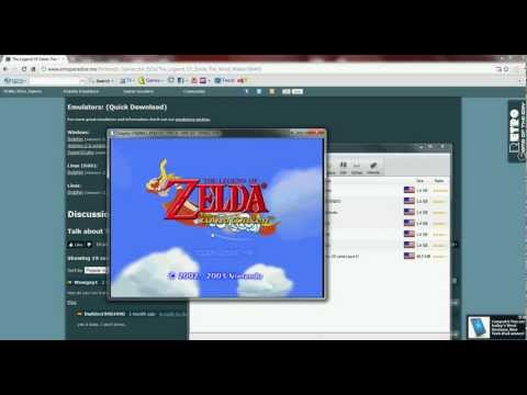 the legend zelda wind waker- tutorial to get it working on pc