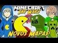 Minecraft: A ILHA DO PACMAN! (SKYWARS)