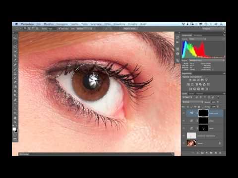 Video Corso Photoshop CS6: Cambiare colore agli occhi - tutorial italiano